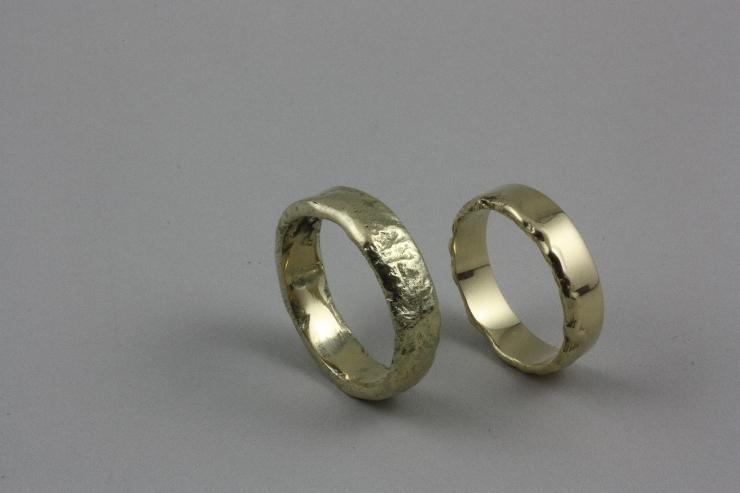 Populair Zelf trouwringen maken Waddinxveen | Volledig naar jouw wens @DD47